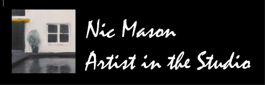 Nic Mason Artist in the Studio